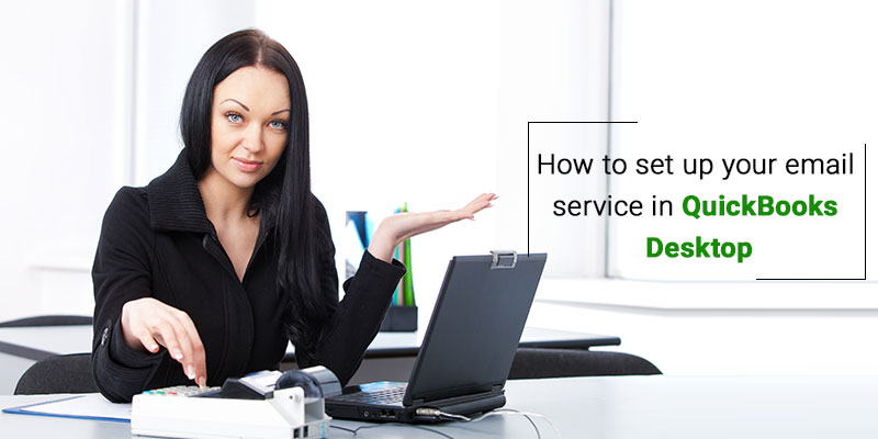 setup email service in quickbooks