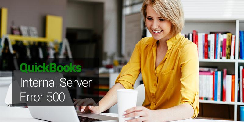 QuickBooks Internal Server Error 500