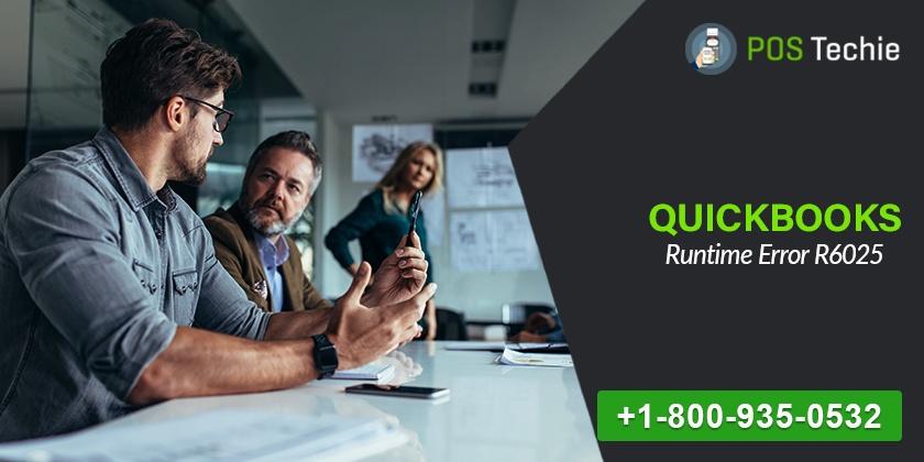 QuickBooks Runtime Error R6025