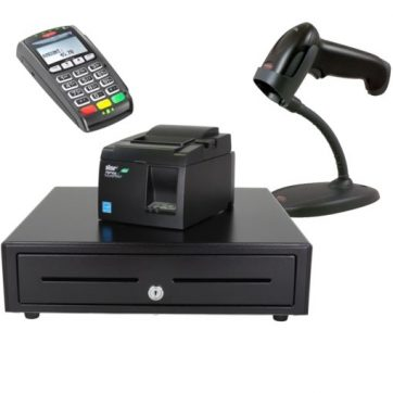 QuickBooks POS Compatible Hardware Bundle with EMV Pin Pad