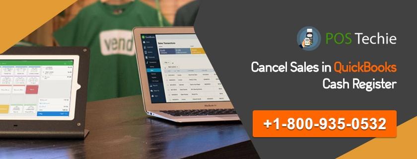 Cancel Sales in QuickBooks Cash Register