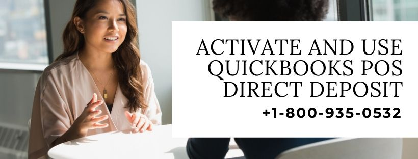 Activate and use QuickBooks POS Direct Deposit